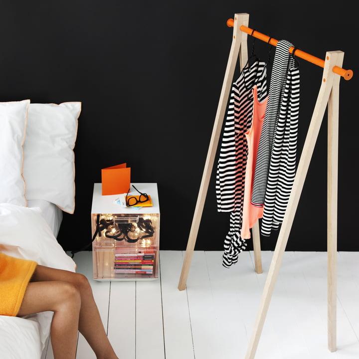 Dress-Up Garderobenständer: Design im Schlafzimmer