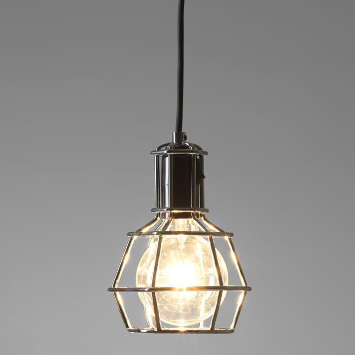 Design House Stockholm - Work Lamp, silber - leuchtend
