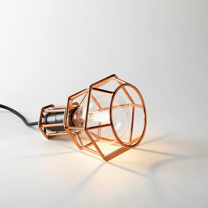 Design House Stockholm - Work Lamp, kupfer