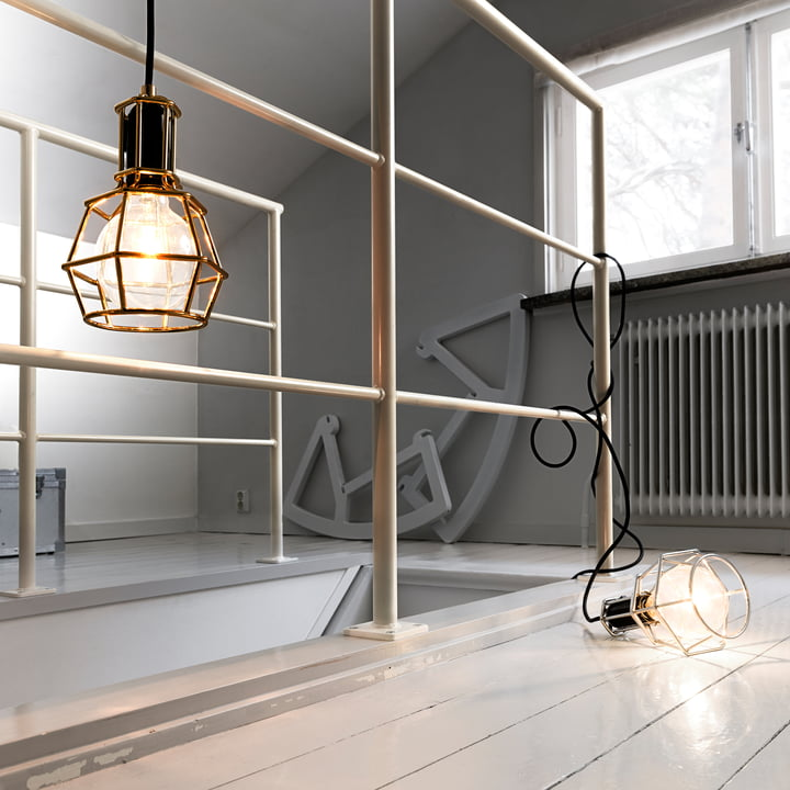 Design House Stockholm - Work Lamp, gold, silber