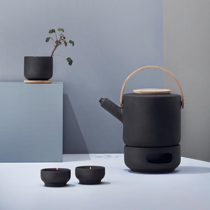 theo teekanne von stelton bei. Black Bedroom Furniture Sets. Home Design Ideas