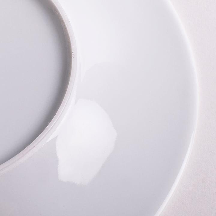 Kahla - Magic Grip Brotteller, weiß, 17 cm