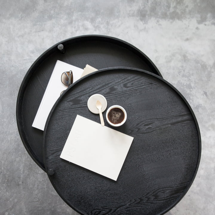 Menu - Turning Table, Esche schwarz