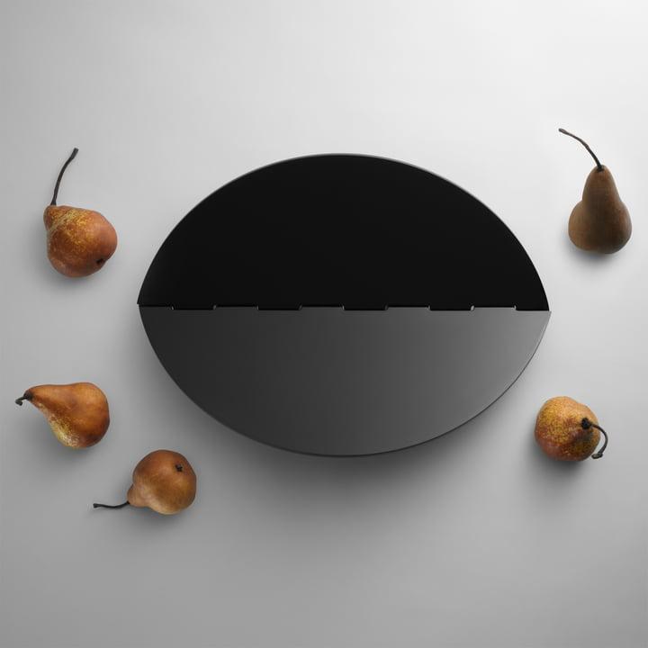 Design House Stockholm - Leaf Tablett, schwarz