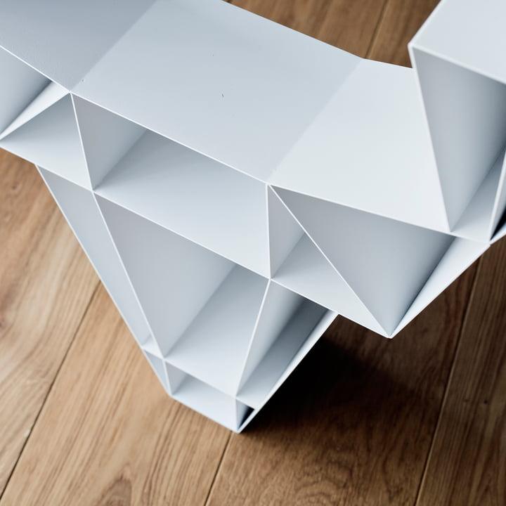 BeDesign - Deer Metall, weiß