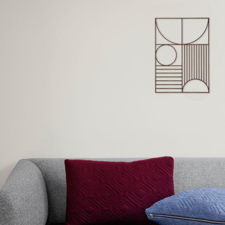Klare Linien von ferm Living - Design fürs Wohnzimmer