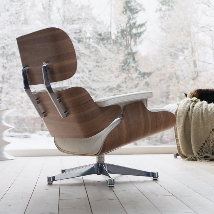 Vitra Sessel mit Premium-Leder und gemütlicher Polsterung