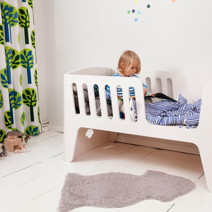 Rocky Baby- und Kinderbett mit Seitenschutz