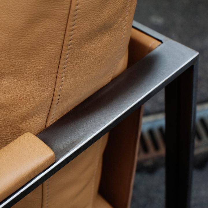 Detailansicht des Monaco Lounge Chairs