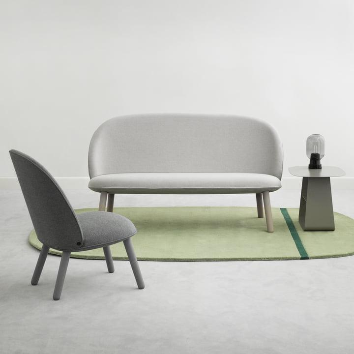 Ace Sofa Nist und Lounge Chair Nist von Normann Copenhagen