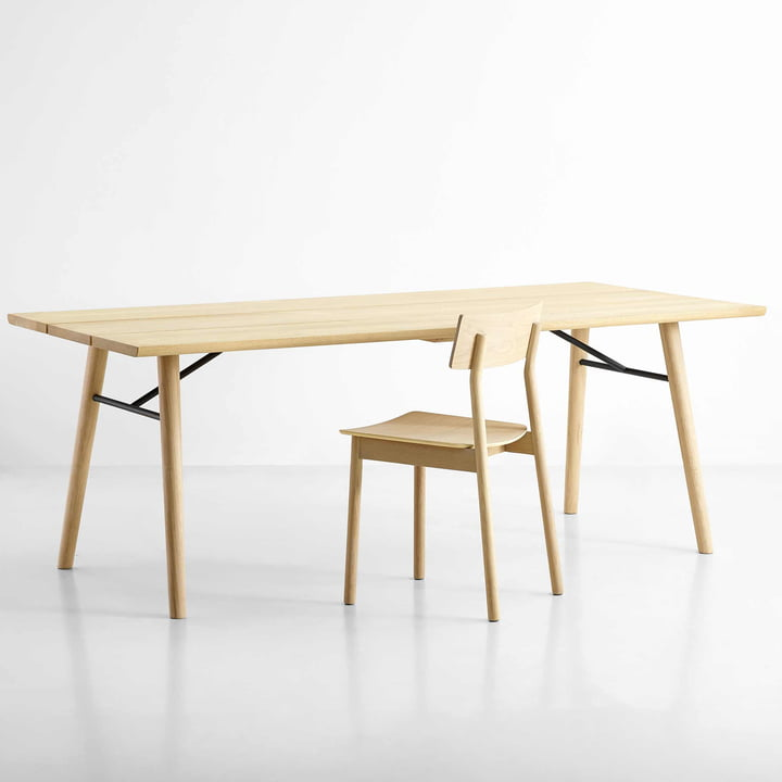 Split Dining Table und Pause Dining Chair