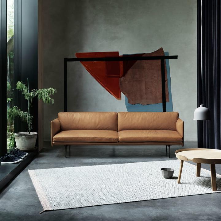 Outline Sofa 2-Sitzer von Muuto