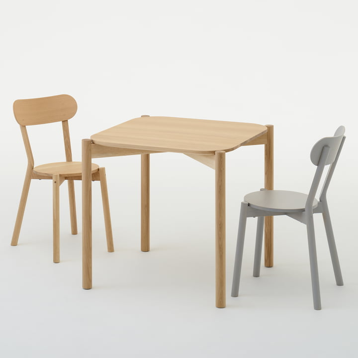 Castor Table und Castor Chair