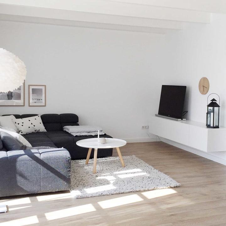 Tablo Ø 78 cm von Normann Copenhagen in Weiß
