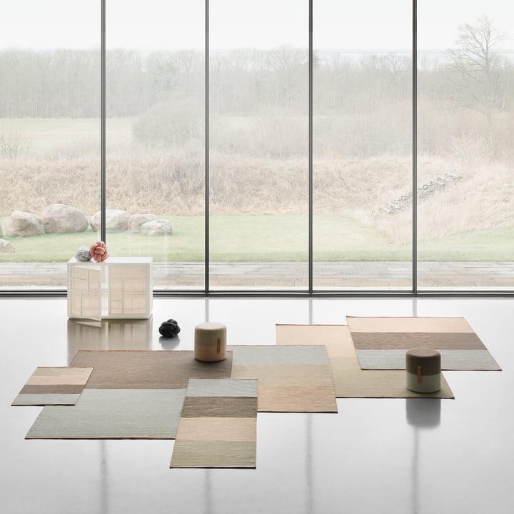 Design House Stockholm - Fields Teppich