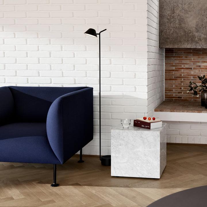 Der Plinth Beistell- und Couchtisch für Ihr Wohnzimmer