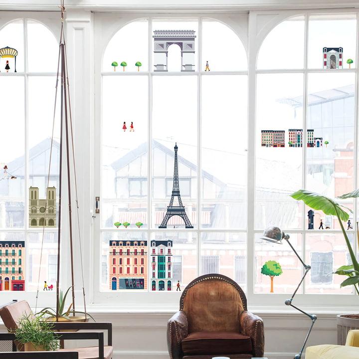 Lekkerplèkkuh Fensterdekoration Paris von Fatboy