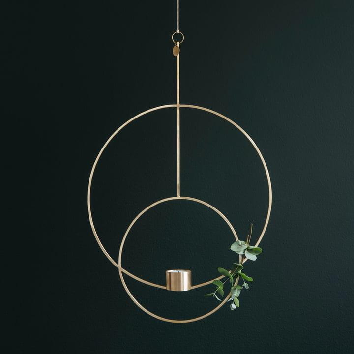 Runder Teelichthalter zum Aufhängen von ferm Living