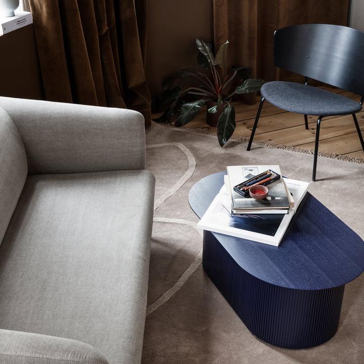 desert teppich ferm living. Black Bedroom Furniture Sets. Home Design Ideas