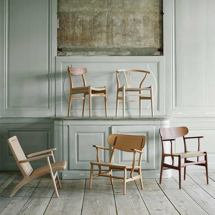 20 % Rabatt auf 5 Stuhl-Ikonen von Carl Hansen