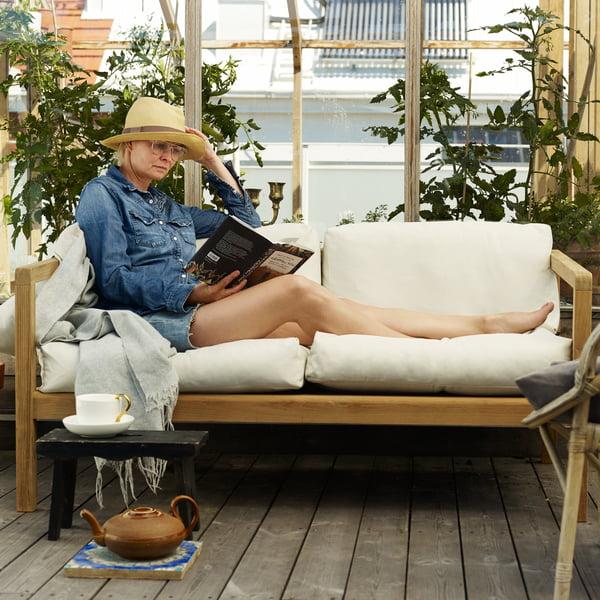 Virkelyst Sofa für sonnige Sommertage