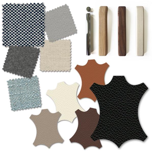 Sofa Grafik 2 - Materialen