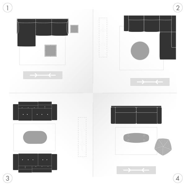 Sofa Grafik 5 - Varianten