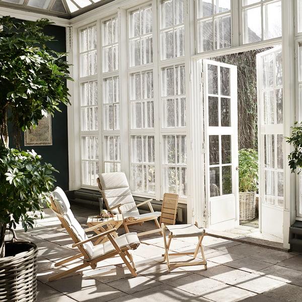 Wintergartenmöbel aus Holz
